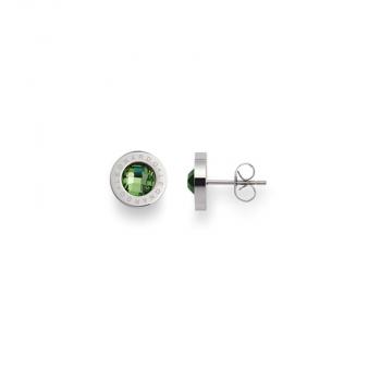 Leonardo Ohrringe 015105 Ohrstecker matrix Green