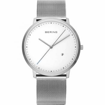 Bering Herrenuhr 11139-004 Uhr Armbanduhr Silber Unisex Damenuhr