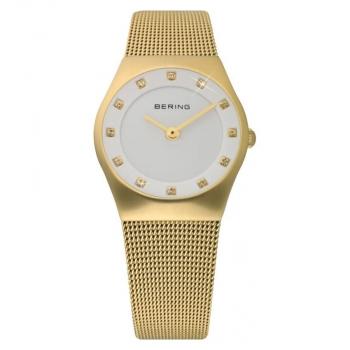 Bering Damenuhr 11927-334 Classic Gold Uhr