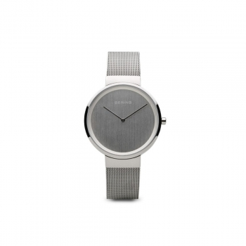 Bering Damenuhr 14531-000 Grau Uhr Armbanduhr Schmuckuhr