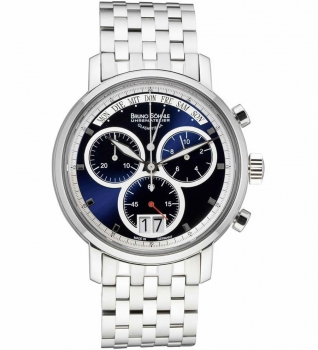 Bruno Söhnle Glashütte/SA Herrenuhr 17-13143-342 Business Marcato Chrono Uhr