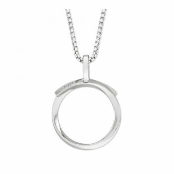 Joop Damen Kette 2023345 Halskette mit Anhänger Silber Halsschmuck