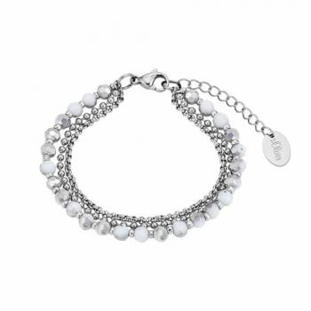 s.Oliver Damen Armband 2024283 Damenarmband Armkette Silber Armkettchen