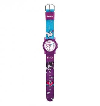 Scout Kinderuhr 280375008 Kinder Uhr Mädchenuhr Sweeties Pferd Cinderella Vogel