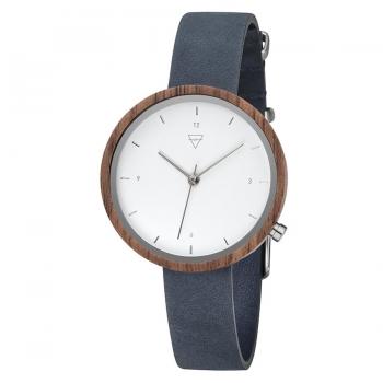 Kerbholz Damenuhr 4251240402529 Hilde Walnuss Holz Holzuhr Uhr