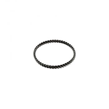 Esprit Damen Armband PERFECT TWIST BLACK Schwarz Braun Reif