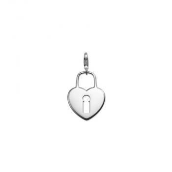 Esprit Anhänger 4426053 Kettenanhänger Charms Silber Schloss Herz Liebe