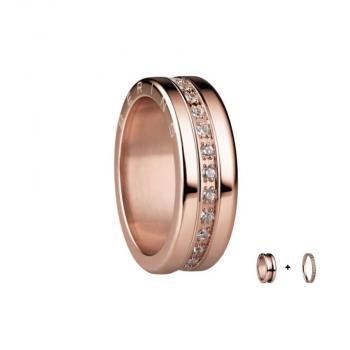 Bering Damenring Rose Ring 2-teilig Set Arctic Symphony Collection Gr.55