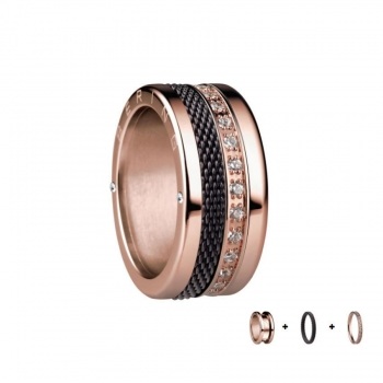 Bering Damenring  Rose Ring 3-teilig Set Arctic Symphony Collection Gr.57