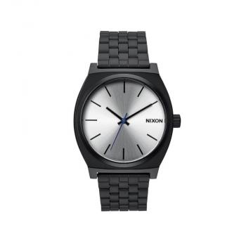 Nixon Herrenuhr A045-180 Time Teller Black Unisex Silber schwarz Uhr