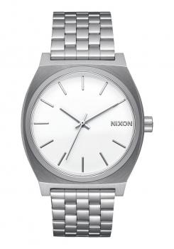 Nixon Damenuhr A1130-1920 Medium Time Teller Silver Silber Uhr