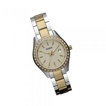 Damenuhren fossil stella  NEW Fossil Damenuhr ES3106 bicolor Damen Uhr Stella