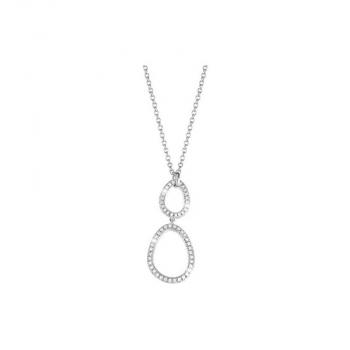 Esprit Damen Kette ESNL92449A Halskette Collier Silber Brilliance