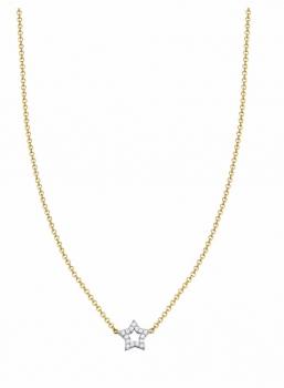Esprit Damen Kette ESNL93366B Stern Halskette Damenkette Gold