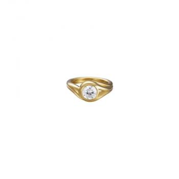 Esprit Damenring ESRG92036B180 Solitär Ring Gr.18 Damenschmuck