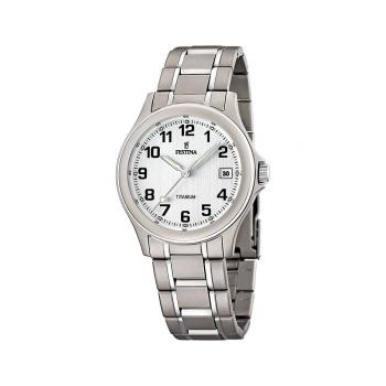 Festina Herrenuhr F16458-1 Business Uhr Titanium Titan Antiallergisch Armbanduhr