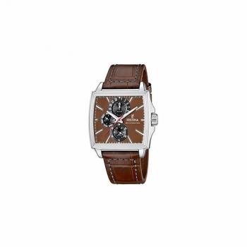 Festina Herrenuhr F16586-4 Armbanduhr Leder braun Neuheit