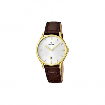 Festina Herrenuhr F16747-1 Elegant Business Uhr Armbanduhr