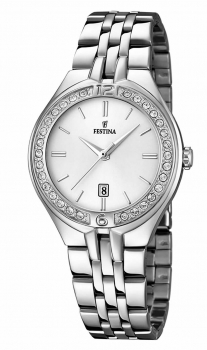 Festina Damenuhr F16867-1 Armbanduhr Uhr Damen Silber