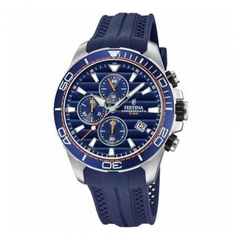 Festina Herrenuhr F20370-1 Uhr Armbanduhr Multifunktionsuhr Chronograph