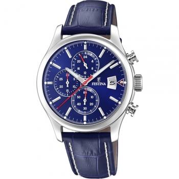 Festina Herrenuhr F20375-2 Uhr Armbanduhr Multifunktionsuhr Chronograph