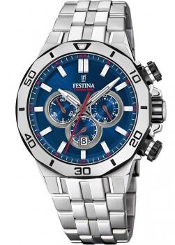 Festina Herrenuhr F20448-3 Uhr Armbanduhr Chrono Bike Chronograph