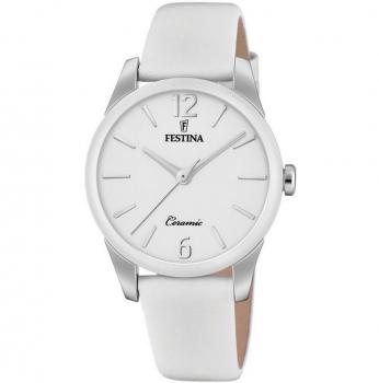 Festina Damenuhr F20473-4 Schmuckuhr Keramik Uhr Armbanduhr