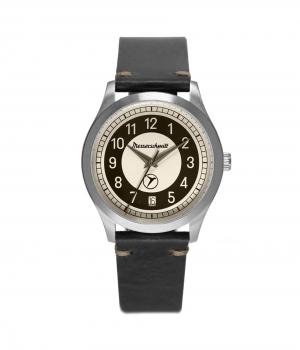 Messerschmitt Herrenuhr KR201-S Aristo Uhr Armbanduhr Kabinenroller Retro