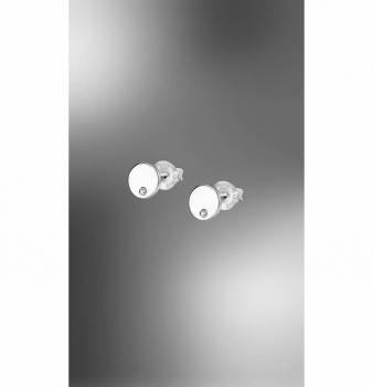 Lotus Ohrringe LP1720-4-1 Rund Ohrstecker Ohrschmuck echt Silber
