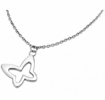 Lotus Damen Kette LS1628 By Festina Style Collier Schmetterling Silber