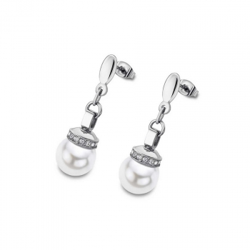 Lotus Ohrringe LS2021-4-1 Style Silber Ohrstecker Ohrschmuck Perlenstecker Perle