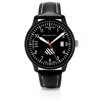 Messerschmitt Herrenuhr ME-42ALTI-L Uhr Armbanduhr Fliegeruhr Höhenmesser