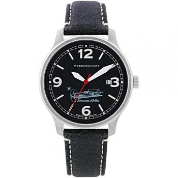 Messerschmitt Herrenuhr ME-42Stern Uhr Armbanduhr Fliegeruhr Stern von Afrika
