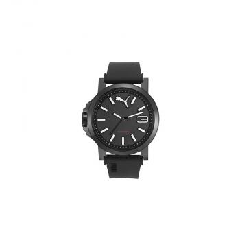 Puma Herrenuhr PU103462019 Time Ultrasize Uhr BLACK Whit