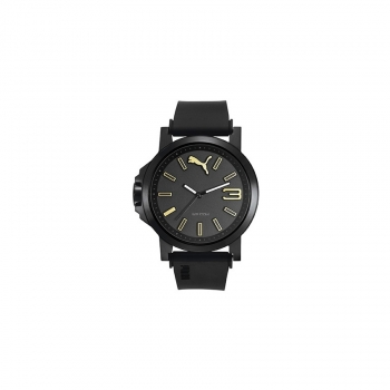Puma Herrenuhr PU103462020 Time Ultrasize 45 Uhr BLACK GOLD