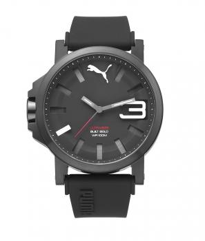 Puma Herrenuhr PU103911005 TIme Ultrasize Uhr Schwarz Weiß