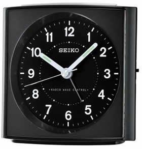 Seiko Wecker QHR022K Funkwecker Funkuhr Uhr Weckuhr Alarm