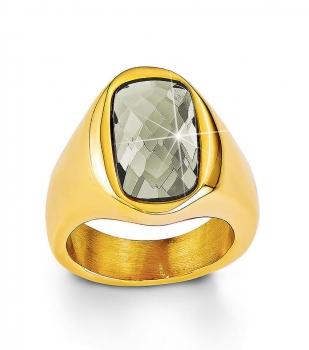 s.Oliver Damenring SO1166 Gold Damen Ring Gr. 60