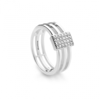 Silvertrends Damenring ST1327 Ring Gr. 54  Silber