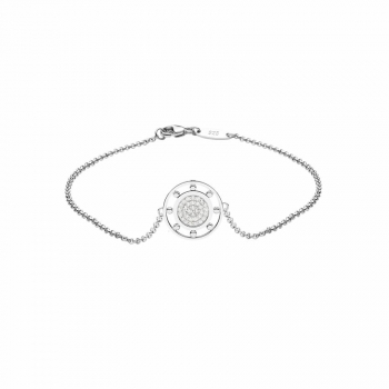 Silvertrends Damen Armband ST1417 Silber Armkette Schmuck