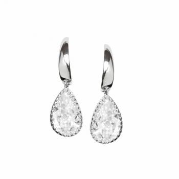 Silvertrends Ohrringe ST792 Silber Ohrhänger Damenohrringe mit Zirkonia