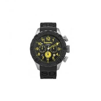 Superdry Herrenuhr SYG142B Uhr Armbanduhr Deep Sea Scuba