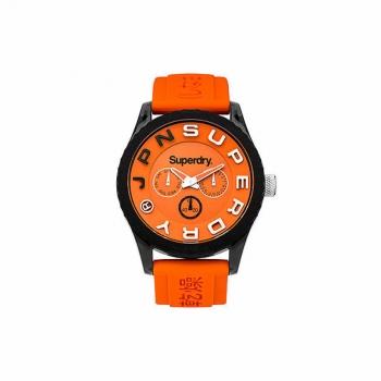 Superdry Herrenuhr SYG170O Uhr Armbanduhr Uhr Tokyo Multi Orange