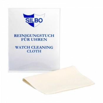 Silbo Uhr Uhrenpflege Reinigungstuch für Uhren