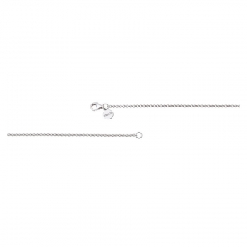 XENOX Damen Kette XK500-50 Silber 50cm