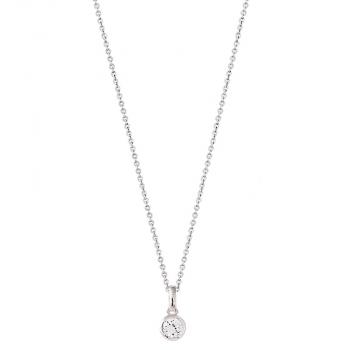 XENOX Damen Kette XS7284 Silber 45cm