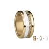 Bering Damenring Gold Ring 3-teilig Set Arctic Symphony Collection  Gr.55 Q1