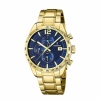 Festina Herrenuhr F20266-2 Sport Chronograph Armbanduhr Gold Chrono Uhr