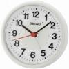 Seiko Wecker QHE159H Uhr Tischuhr Alarm no tic Weckuhr kein ticken