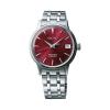 Seiko Damenuhr SRP853J1 Presage Uhr Armbanduhr Automatik Zifferblatt Rot